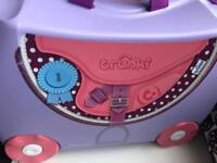 Pink and purple pony trunki