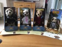 4 x Meerkats for sale
