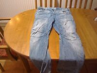 Mens jeans, heavy duty, Jack and Jones workwear