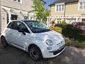 Fiat 500 Cult 2014 (64) twin air 900cc - ROAD TAX FREE - still under warranty - immaculate condition