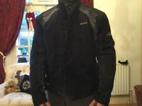 AKITO motorbike jacket ( reinforced hi tec fabric). Like new.
