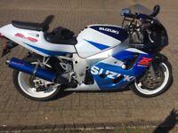 Suzuki GSxr Srad 600 cc
