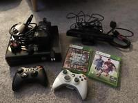 Xbox 360 250gb with Kinect