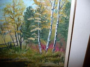 "L. M. Spears ""Country Scene"" Oil Painting Stratford Kitchener Area image 6"