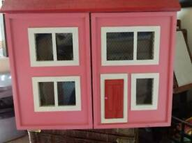 dolls house heavy wooden lovely house