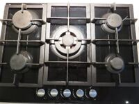 5 burner gas hob in very good condition