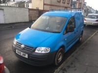 VW caddy 2.0 diesel V LOW MILEAGE. Ex British has