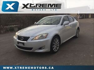 2007 Lexus IS 250 B PACKAGE/SUNROOF/LEATHER/HEATED/COLD SEATS