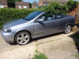 2005 Vauxhall Astra Bertone, 1.8, Long MOT, Drives Really Well, Part Leather