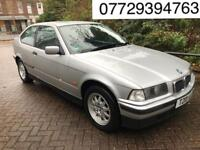 2000 BMW 3 Series 1.9 318ti Sport Compact 3dr # 1 YEARS MOT # AUTOMATIC # LEATHER SEATS #