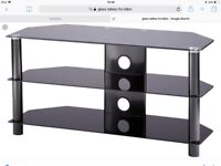 Glass TV stand 42inch