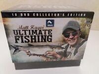 Matt Hayes Ultimate Fishing 10 DVD collection