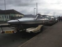 Fletcure 17ft speedboat 70hp Johnson