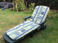 Reclining outdoor chair