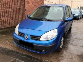Renault Scenic 1.6 VVT Expression 5 door - 2004, MOT NOVEMBER 2017, Drives Great, Great Condition!