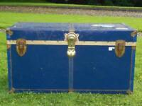 Old Blue Chest/Trunk