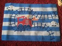 Next Boys Train Theme bed linen and accessories