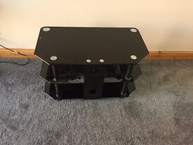 Gloss Black Tv Stand Used Great Condition