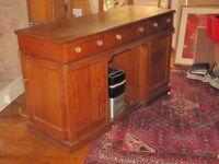 Large double pedestal Gentleman's desk