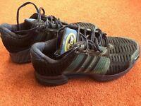 Adidas Blue Clima Cool Trainers Size UK 3.5 (EU 36)