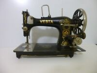VINTAGE VESTA SEWING MACHINE
