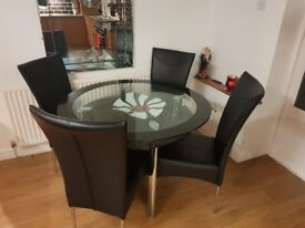 Glass table for sale £150