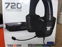 TRITON 720 + 7.1 Surround Headset (PS4/PS3/Xbox 360/PC)