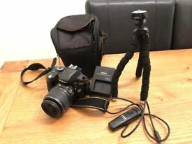 Nearly New Nikon D3300 with Lens & Accessories