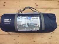 HIGH PEAK Tessin 5 Dome Tent. Used for two trips. Reluctant sale.