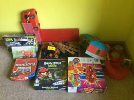 Bundle of toys and games