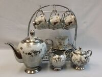 16PC TEA/COFFEE SET WITH STAND