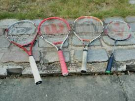 Tennis & Badminton rackets