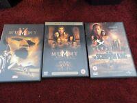 The Mummy, The Mummy Returns, The Scorpion King
