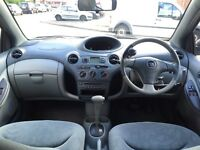 TOYOTA YARIS**AUTOMATIC**1 LADY OWNER**13 TOYOTA STAMPS**PARKING SENSORS**DISABLE ADAPTATIONS**