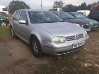 Volkswagen Golf V5 2001 2.3 Petrol Automatic New 1 Year MOT