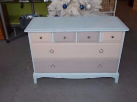 Chest of drawers Stag Upcycled in Shabby Chic style
