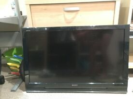 Sony Bravia 42 Inch LCD TV with Wall Brackets