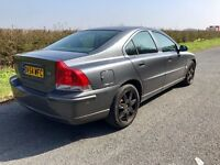 Volvo S60, DIESEL, 2004, AUTOMATIC, Grey, 147k Low Miles, Service History, 7 MONTHS MOT, New Cambelt