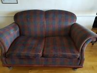 Two Seater Sofa and Cushions (FREE)