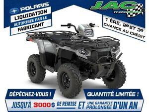 2018 Polaris Sportsman 450 High Output Utility Edition Défiez no