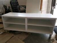 White Ikea media cabinet / storage
