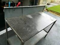Engineering garage bench