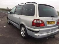 Ford Galaxy 2002 1.9 TDI 12 months test Reverse parking sensors Diesel MPV family car