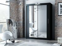 CLEARANCE STOCK MUST GO!! NEW BERLIN FULL MIRROR SLIDING WARDROBE FOR SALE WITH FREE DELIVERY!!!!