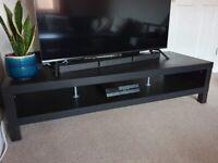TV stand Ikea black-brown