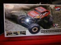 Radio controlled rock crawler
