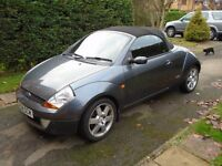 Ford Streetka Convertable