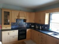Kitchen and wooden floor for sale