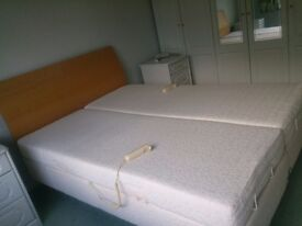 Electric double bed