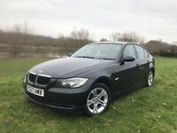 BMW 318d Black Full service History 2l Diesel 6 speed 12 Months Mot rear parking sensor 143BHP